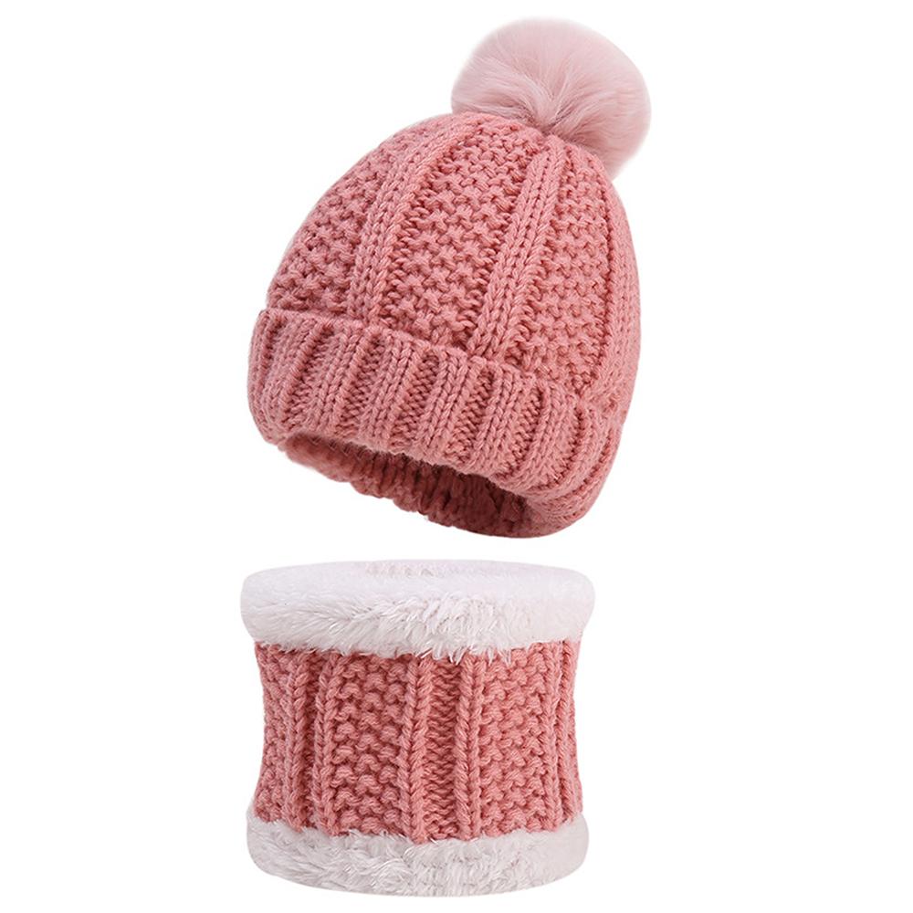 Details about  /2020 Baby Children Kids Cute Winter Autumn Warm Knitted Hat Gloves Set Novelty